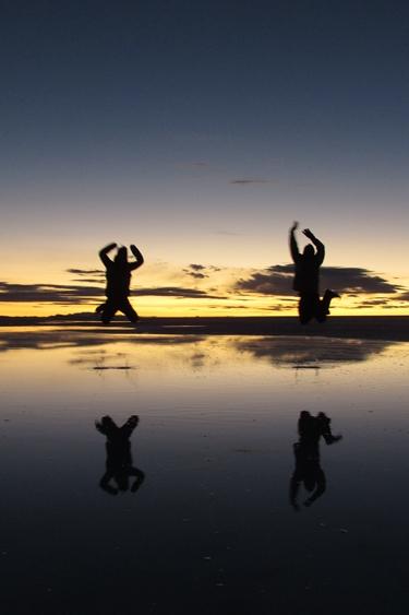 【ボリビア04】鏡張りのウユニ塩湖~この旅を始めた目的の一つ。 (2)