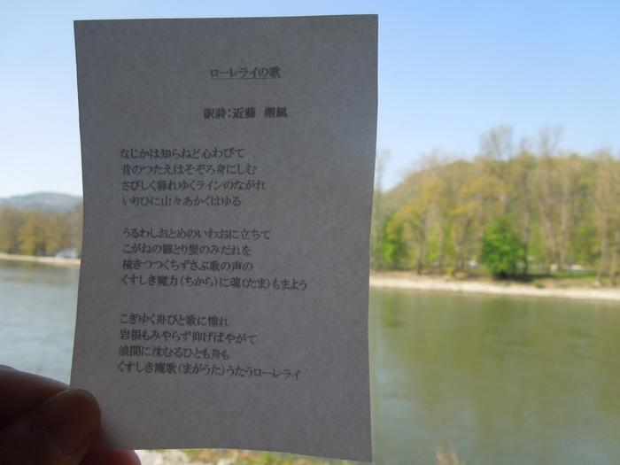 【ドイツ02】ドイツに乾杯!世界遺産ライン川とロマンチック街道6日間 ~Sho、家族と感動の再開二日目~ (11)