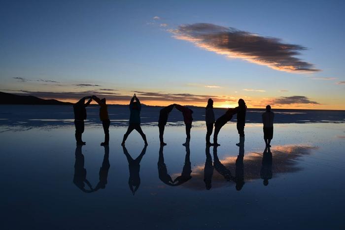 【ボリビア04】鏡張りのウユニ塩湖~この旅を始めた目的の一つ。 (1)