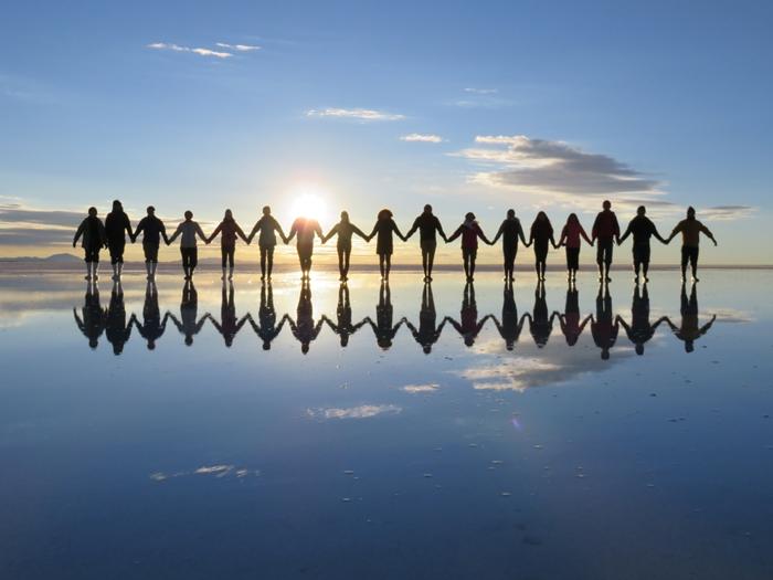 【ボリビア04】鏡張りのウユニ塩湖~この旅を始めた目的の一つ。 (11)