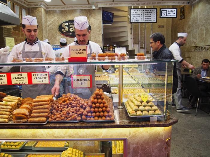 【トルコ04 食情報】世界三大料理のトルコ料理をイスタンブールで食す! (23)