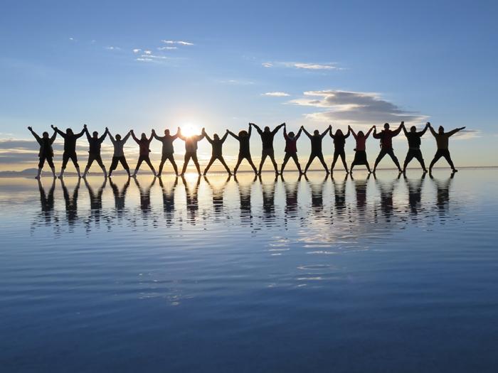 【ボリビア04】鏡張りのウユニ塩湖~この旅を始めた目的の一つ。 (12)