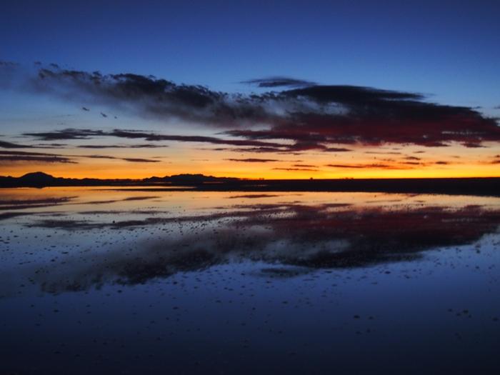 【ボリビア04】鏡張りのウユニ塩湖~この旅を始めた目的の一つ。 (14)