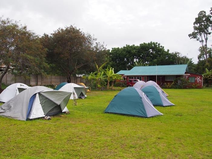 【チリ21 宿情報】イースター島のキャンプ場「CAMPING TIPANIE MOANA」 (2)