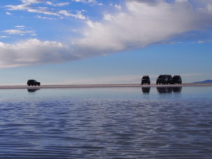 【ボリビア04】鏡張りのウユニ塩湖~この旅を始めた目的の一つ。 (17)