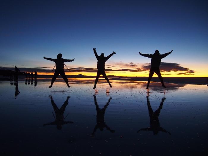 【ボリビア04】鏡張りのウユニ塩湖~この旅を始めた目的の一つ。 (16)