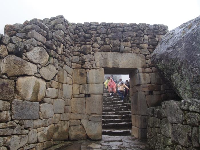 【ペルー06 世界遺産】雨降りしきる空中都市マチュピチュ (14)