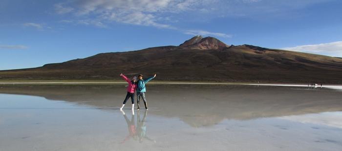 【ボリビア04】鏡張りのウユニ塩湖~この旅を始めた目的の一つ。 (9)