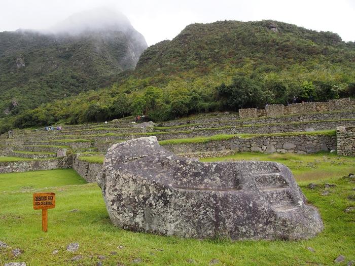 【ペルー06 世界遺産】雨降りしきる空中都市マチュピチュ (10)