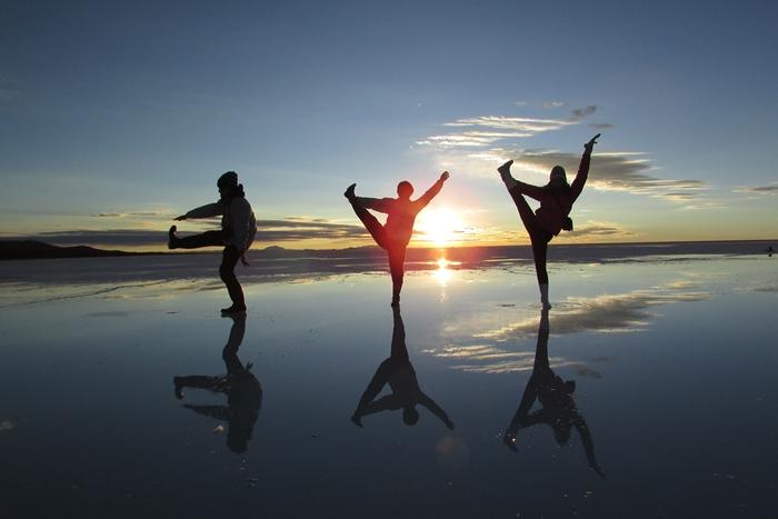 【ボリビア04】鏡張りのウユニ塩湖~この旅を始めた目的の一つ。 (6)