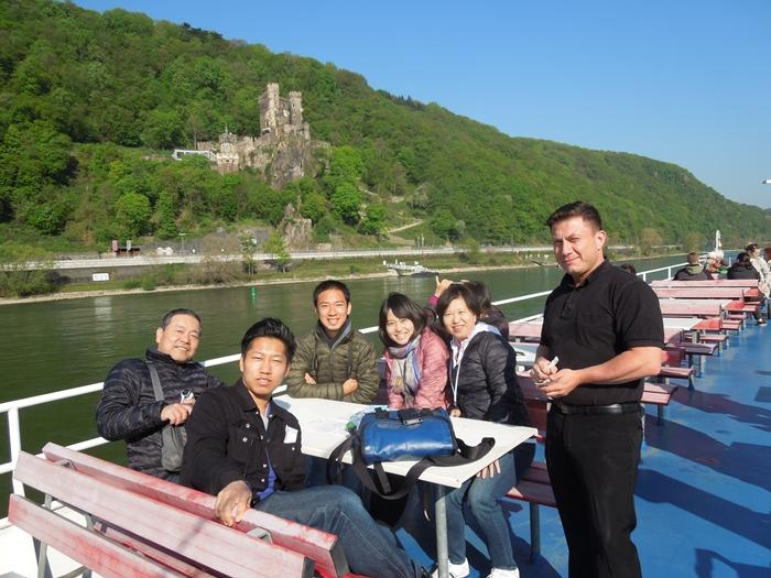 【ドイツ02】ドイツに乾杯!世界遺産ライン川とロマンチック街道6日間 ~Sho、家族と感動の再開二日目~ (6)