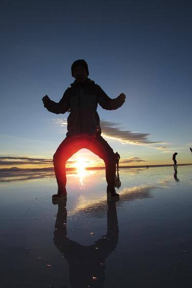 【ボリビア04】鏡張りのウユニ塩湖~この旅を始めた目的の一つ。 (5)
