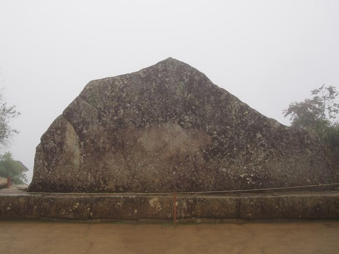 【ペルー06 世界遺産】雨降りしきる空中都市マチュピチュ (27)