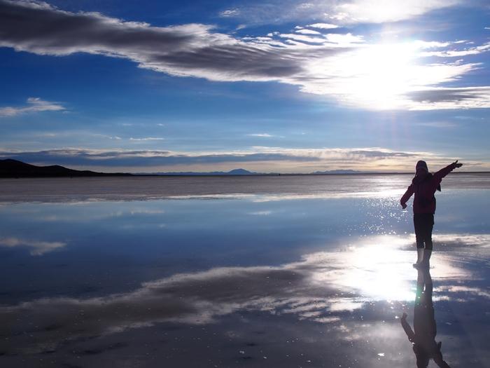 【ボリビア04】鏡張りのウユニ塩湖~この旅を始めた目的の一つ。 (19)