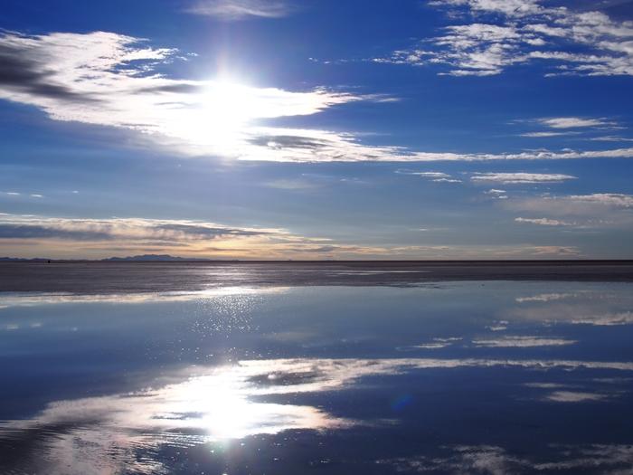 【ボリビア04】鏡張りのウユニ塩湖~この旅を始めた目的の一つ。 (18)
