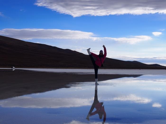 【ボリビア04】鏡張りのウユニ塩湖~この旅を始めた目的の一つ。 (20)