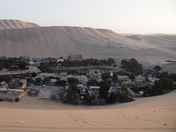 【ペルー12】ペルーにある砂漠のオアシス?ワカチナ (11)