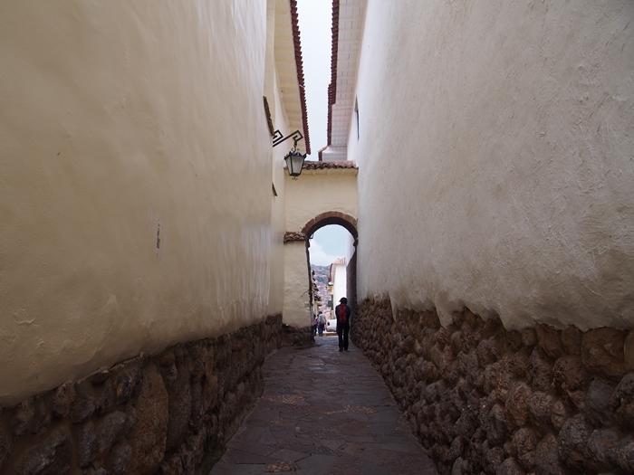 【ペルー09 世界遺産】石畳みの世界遺産クスコ町歩き (10)