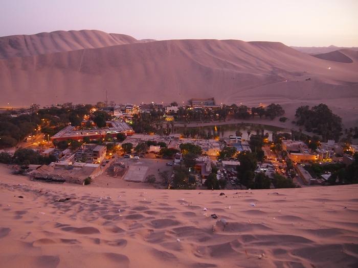 【ペルー12】ペルーにある砂漠のオアシス?ワカチナ (14)