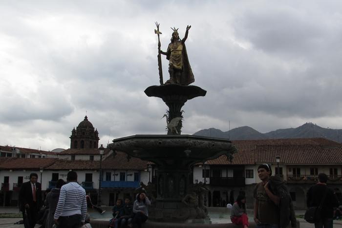 【ペルー09 世界遺産】石畳みの世界遺産クスコ町歩き (5)