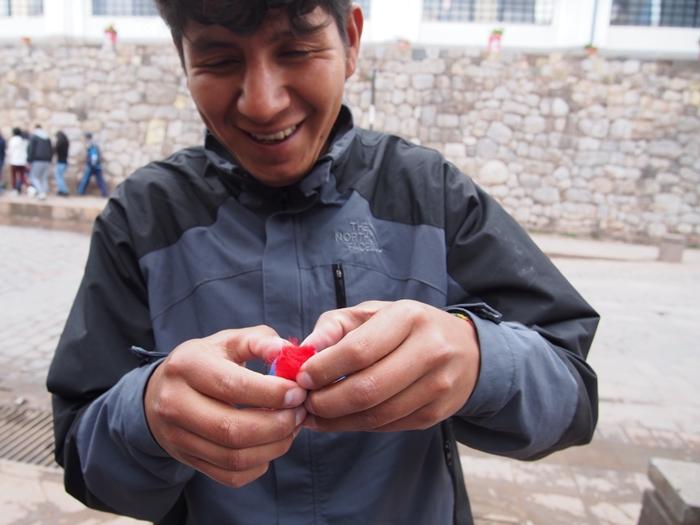 【ペルー15】クスコ&リマのお土産情報!リマの郵便事情も。 ( (7)