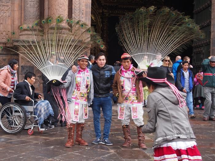 【ペルー09 世界遺産】石畳みの世界遺産クスコ町歩き (26)
