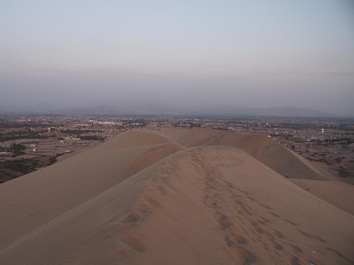 【ペルー12】ペルーにある砂漠のオアシス?ワカチナ (12)