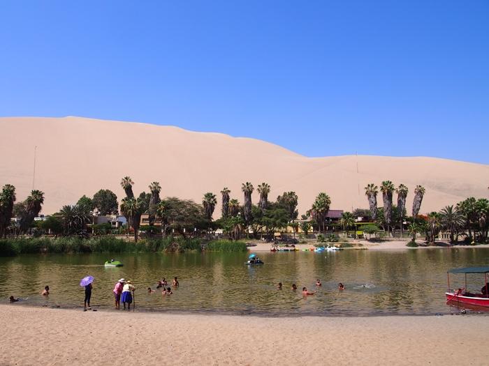 【ペルー12】ペルーにある砂漠のオアシス?ワカチナ (2)