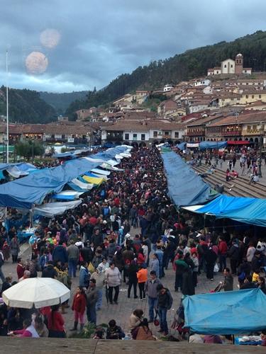 【ペルー09 世界遺産】石畳みの世界遺産クスコ町歩き (36)