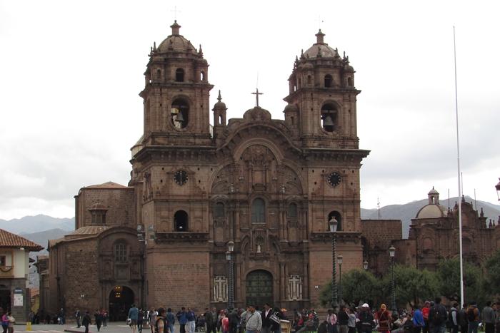 【ペルー09 世界遺産】石畳みの世界遺産クスコ町歩き (4)
