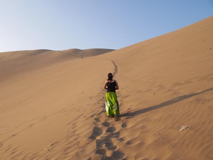 【ペルー12】ペルーにある砂漠のオアシス?ワカチナ (9)