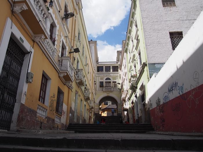 【エクアドル13】世界で初めての世界遺産 キト旧市街で街歩き♪ (14)
