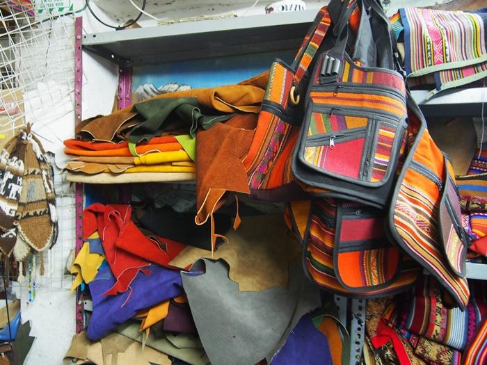 【ペルー14】クスコで自分だけの靴を作ってもらおう! (9)