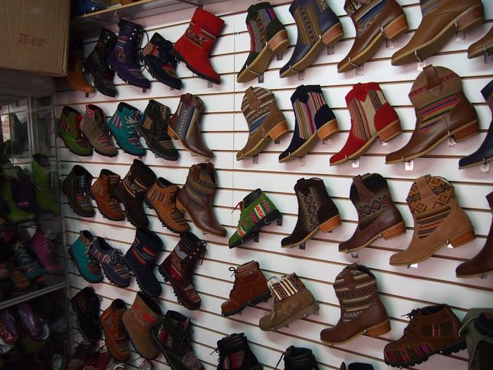 【ペルー14】クスコで自分だけの靴を作ってもらおう! (7)