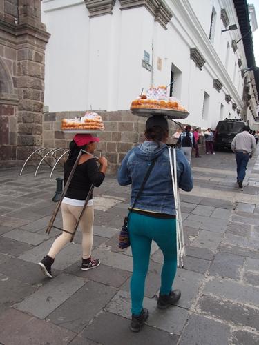 【エクアドル13】世界で初めての世界遺産 キト旧市街で街歩き♪ (24)
