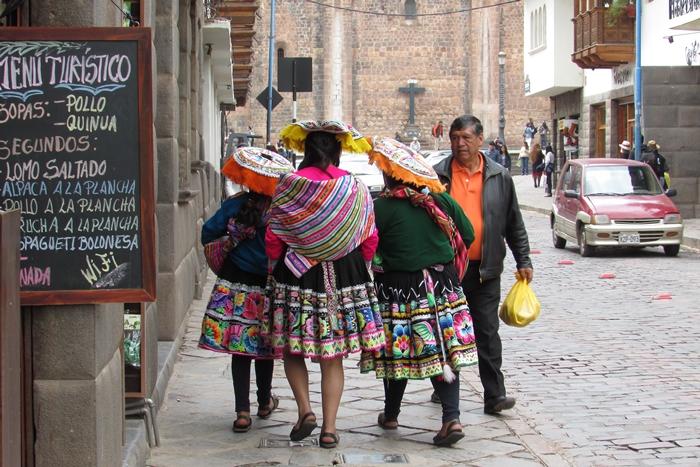 【ペルー09 世界遺産】石畳みの世界遺産クスコ町歩き (9)