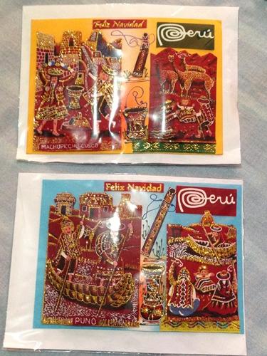 【ペルー15】クスコ&リマのお土産情報!リマの郵便事情も。 ( (2)