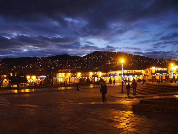 【ペルー09 世界遺産】石畳みの世界遺産クスコ町歩き (11)