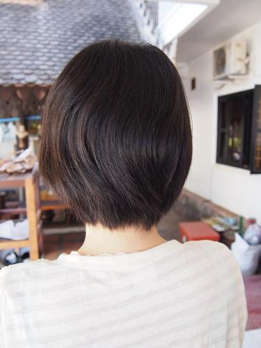 【エクアドル07】ガラパゴスで髪を切ってもらいました。 (3)
