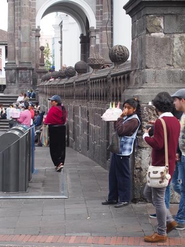 【エクアドル13】世界で初めての世界遺産 キト旧市街で街歩き♪ (23)