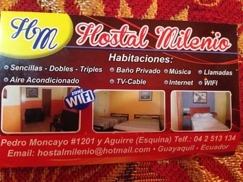 【エクアドル10 宿情報】グアヤキルの安宿、おすすめは「Dream Kapture Hostel」 (8)