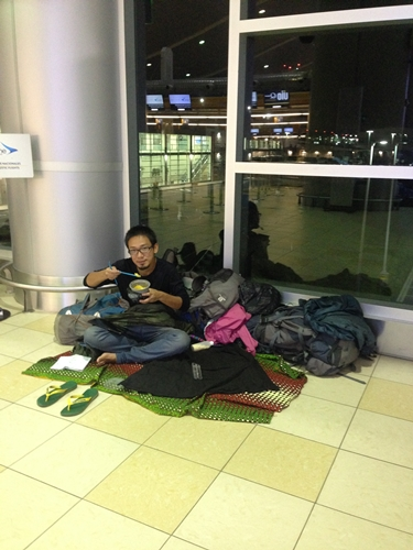 【エクアドル15】キトの空港への行き方と、空港泊情報 (2)