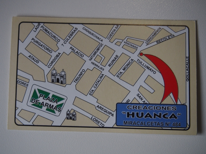 【ペルー15】クスコ&リマのお土産情報!リマの郵便事情も。 ( (6)
