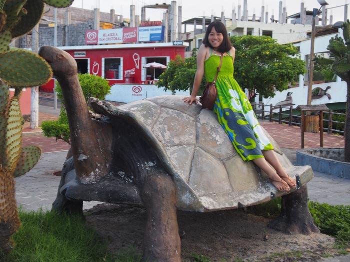 【エクアドル06】プエルト・バケリソ・モレノサンクリストバル島の宿、レストラン情報などあれこれ ガラパゴスPart5 (26)