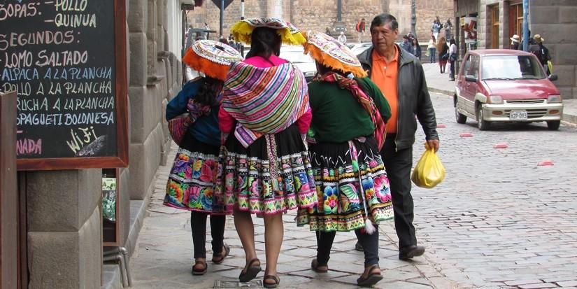 【ペルー09 世界遺産】石畳みの世界遺産クスコ町歩き