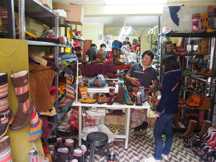 【ペルー14】クスコで自分だけの靴を作ってもらおう! (3)