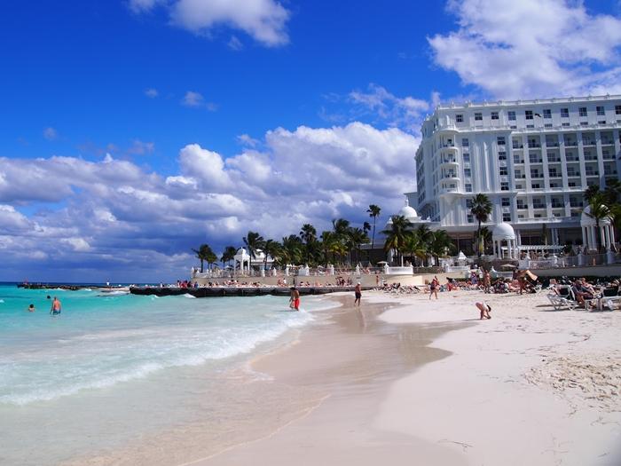 【メキシコ02】まだまだ寒い2月初旬のカンクン・ビーチ。お土産情報も。 (9)