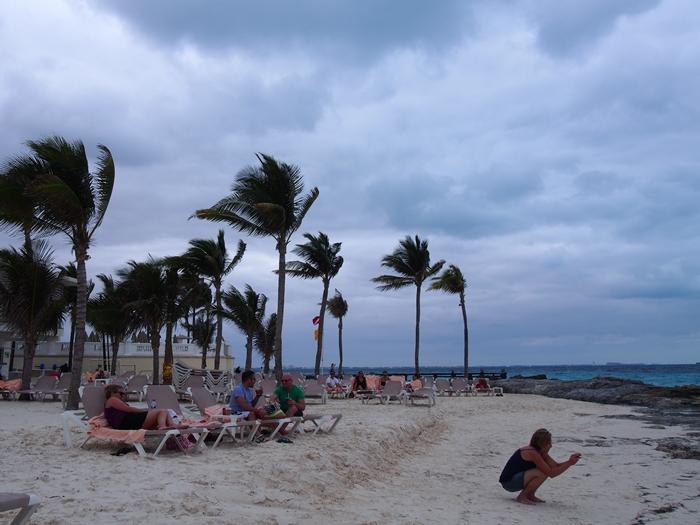 【メキシコ02】まだまだ寒い2月初旬のカンクン・ビーチ。お土産情報も。 (4)