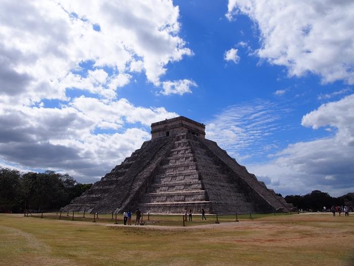 ピラミッド、天文学、イケニエ。マヤ文明最高峰の遺跡チチェン・イッツァ! (26)