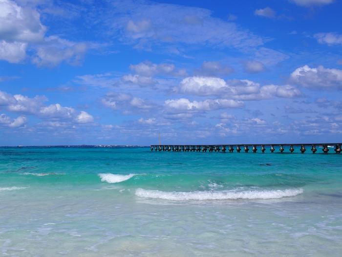 【メキシコ02】まだまだ寒い2月初旬のカンクン・ビーチ。お土産情報も。 (5)